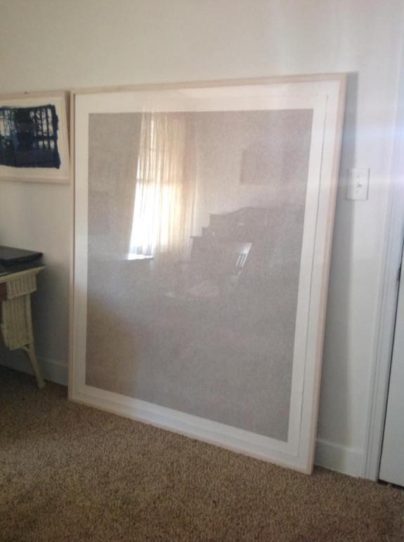 Sepia framed